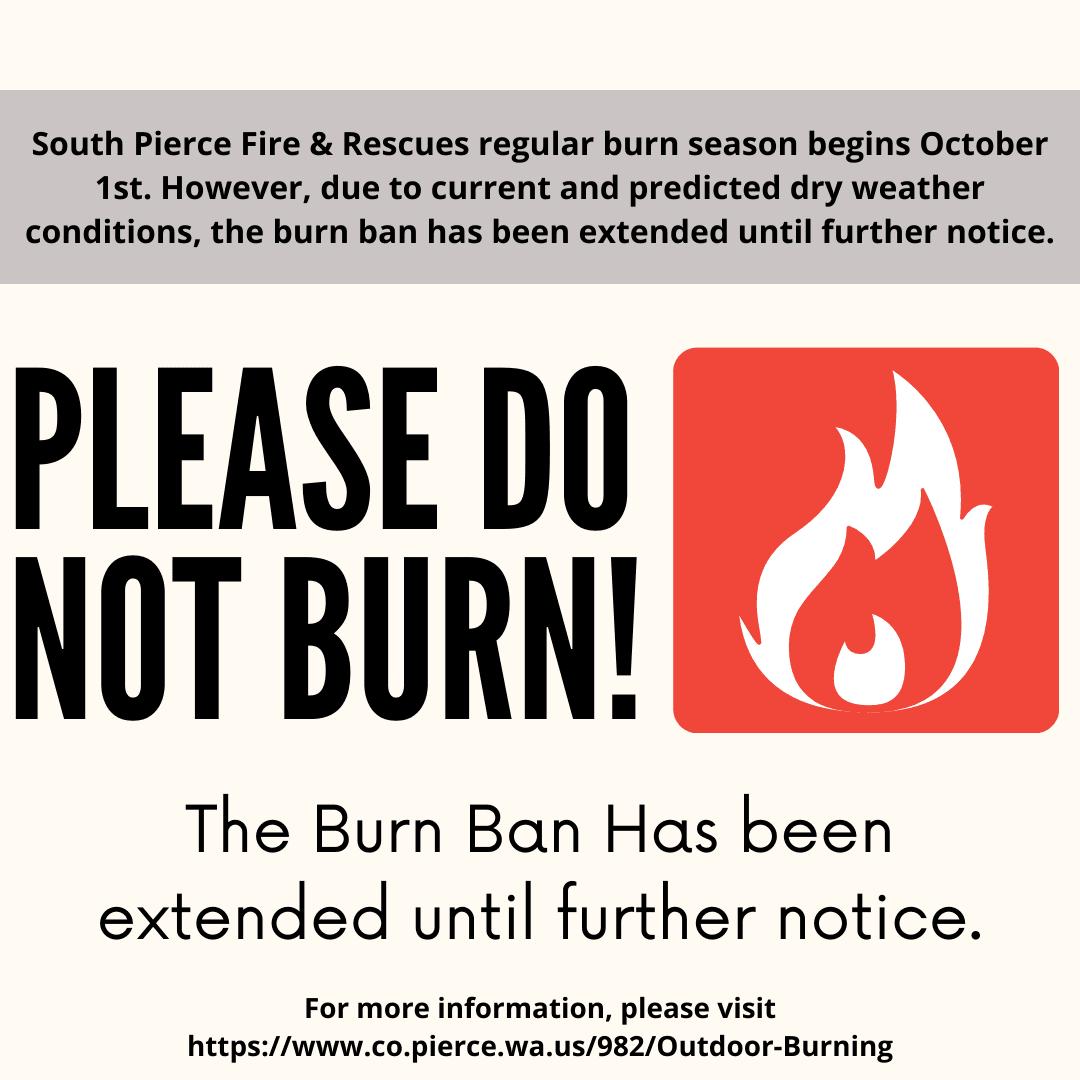 Burn Ban Extension